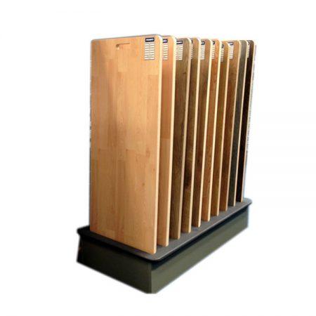 Wd706 Mdf Wood Flooring Display Rack And Stand Flooring