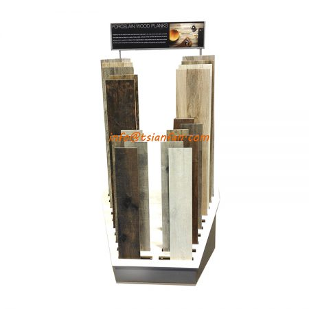 Wd741 Wide Wedge Flooring Display Stand For Showroom