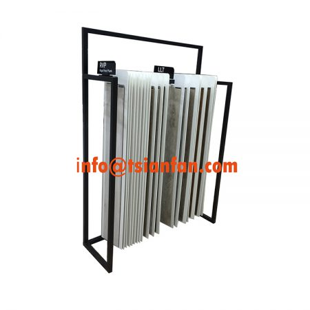 Metal Flooring Display Rack Amp Vinyl Display Stand Flooring