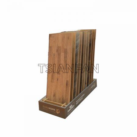 Simple wooden floor display ME001-1