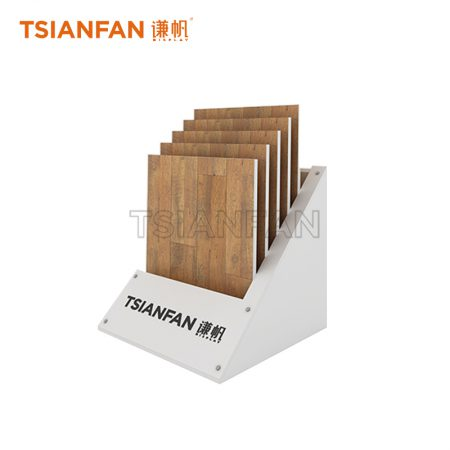 Tiered Wooden Display Floor Standing 5 Baskets ME001-6
