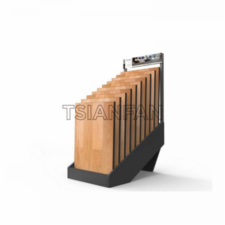 Multi-layer wooden floor display stand ME001-9