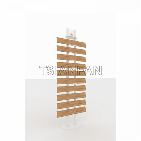 Wooden Floor Floor Display Stand Size Can Be Customized ME002-07
