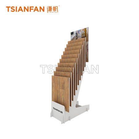 Customizable Laminate Flooring Display Stand ME003-04