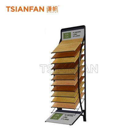 Factory Custom Wood Display Stand For Wood Floor ME007-1