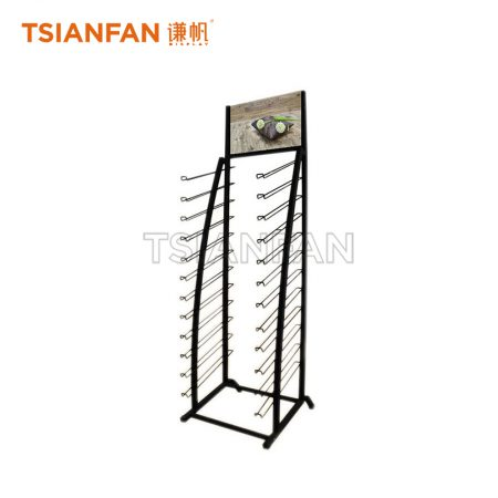 Wood Floor Tile Display Stand Metal Display Rack ME007-2