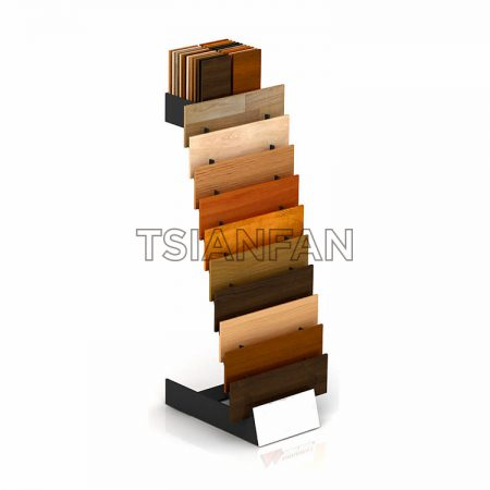 Factory Selling Hardwood Floor Display Stand ME009-02