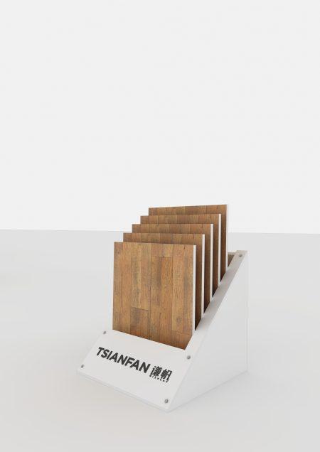 New Design Showroom Flooring/Floor Tile Display Stand/Rack/Shelf ME011-01