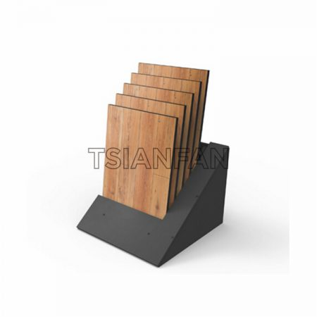 Vertical Simple Wooden Floor Display Stand M011-03
