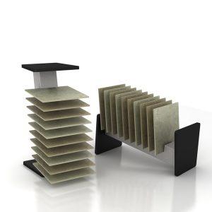 Factory Best Selling Solid Wood Floor Display Rack ME013-02