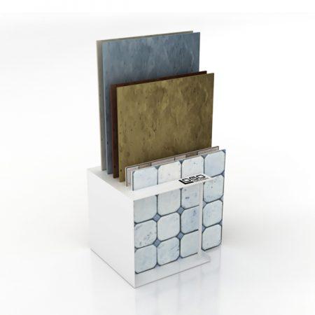 Factory Selling Simple Wooden Floor Display Rack ME014