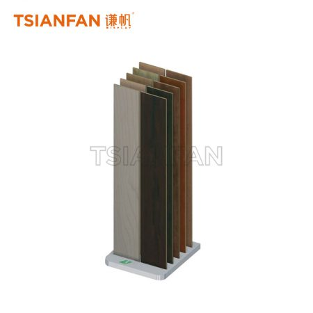 Wooden Floor Display Stand With 5 Slots, Simple Display Stand ME016-13
