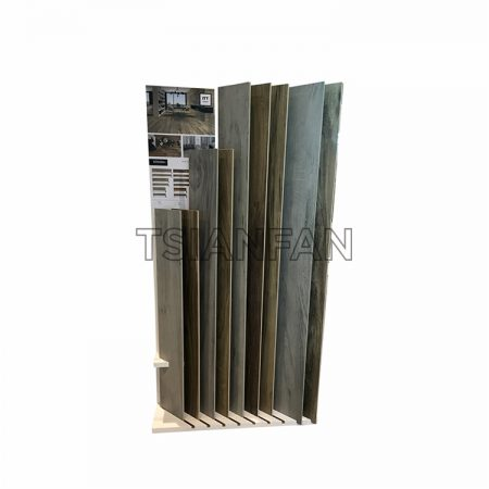 Special Portable Wooden Floor Display Stand For Exhibition Hall, Large Board Display Stand ME016-24