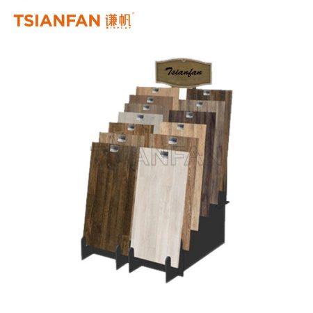 Solid Wood Floor Display Rack With Slot ME17-5