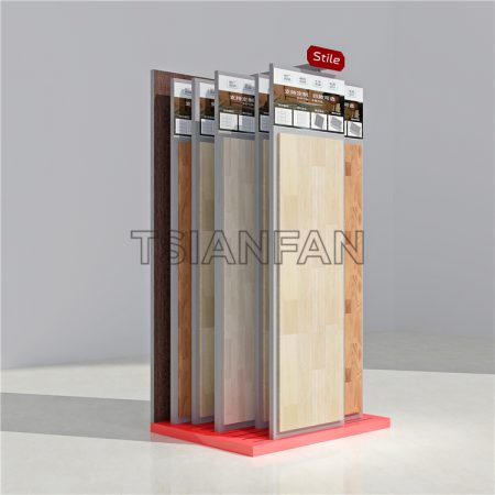 The Latest Display Rack With Wooden Floor ME022