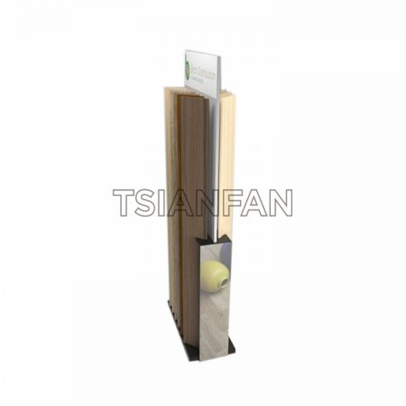 Customized Simple Wooden Floor Display Stand ME28