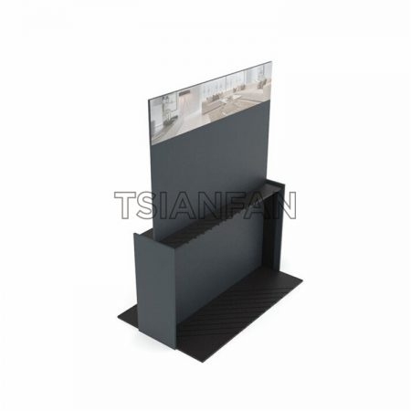 Customizable Large Wooden Floor Display Stand ME29