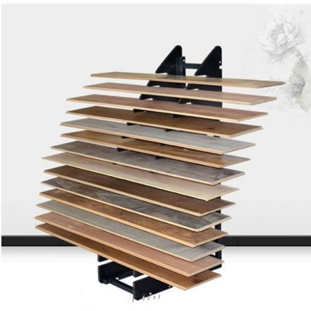 Wood Floor Sample Special Display Rack Manufacturers Wholesale ME023