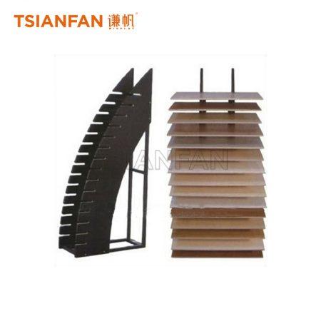 Wooden Floor Exhibition Hall Display Rack Manufacturer ME024