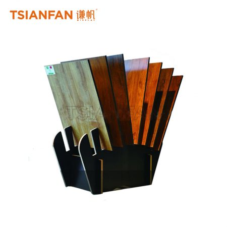 Simple Hardwood Floor And Solid Wood Floor Display Rack Customization ME024