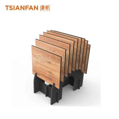 Simple Vertical Display Rack For Wooden Floor ME025