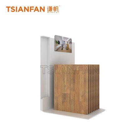 Simple Wooden Floor Display Rack Customization WC2025
