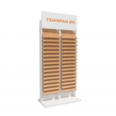 Wooden Floor Reclining Display Stand ME049