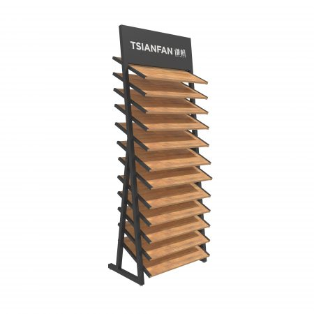 Manufacturer of Multilayer Composite Wood Floor Display Rack ME051