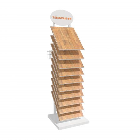 Factory Hardwood Floor Display Rack Factory Direct Sales ME052