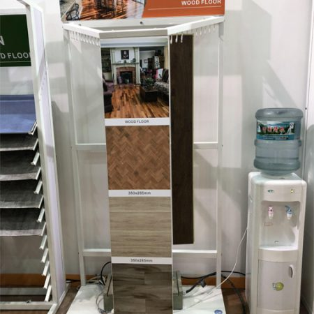 White Metal Rack Floor Display Stand,Metal Floor Display Stands WC2032