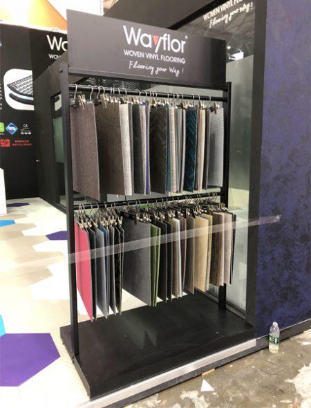 Wooden Tile Stands,Flooring showroom display Design Ideas WC2033