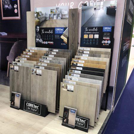 Mullican Flooring Display,Flooring Display Stands Uk WC2031