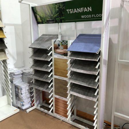Wood Floor Display Stands,Wooden Floor Display Rack Customization WD677