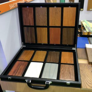 Wooden Floor Sample Suitcase Supplier WC2037