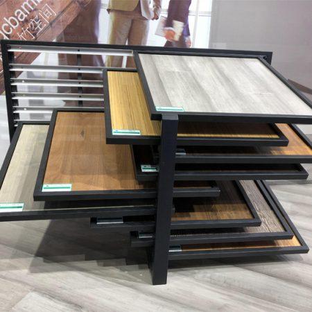 Flooring Sample Displays,Metal Flooring Display Rack WC2051