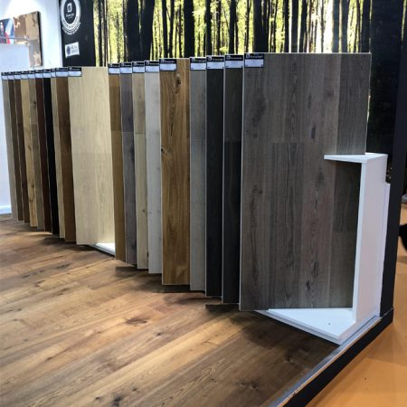 Boral Timber Flooring Display,Display Booth Flooring Display Rack WC2041