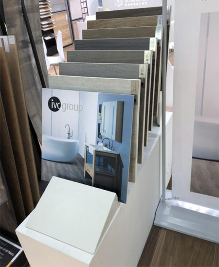Cleo Flooring Display,Ex Display Laminate Flooring Display Rack WC2042