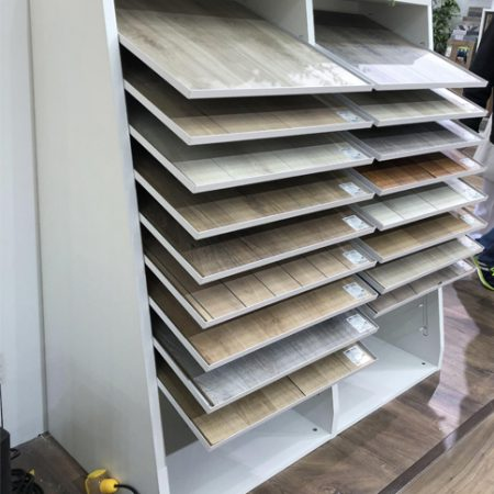 Mullican Flooring Display, Flooring Display Stands Uk WC2043