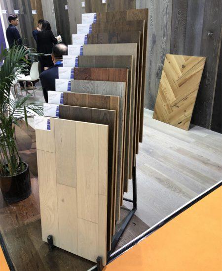 Cleo Flooring Display,Metal Flooring Display Rack WC2045