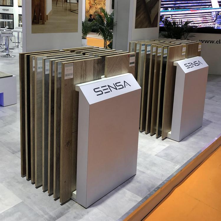 Flooring Store Displays, Metal Rack Floor Display Stand WC2046