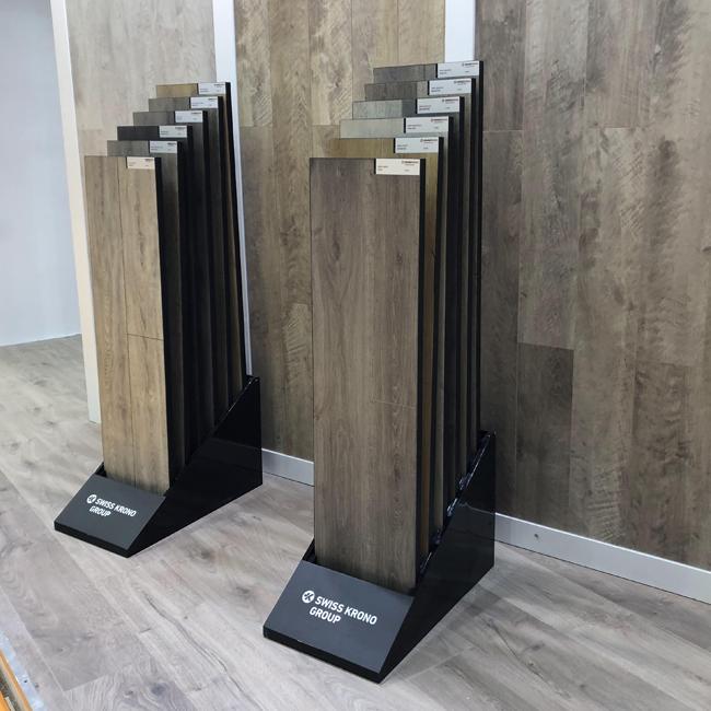 Simple Wooden Floor Display Rack Manufacturers Wholesale WC2058