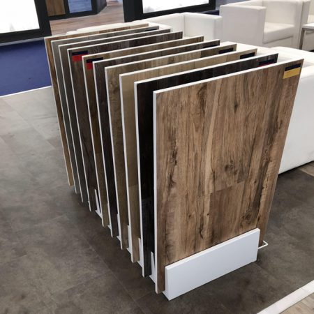 Wooden Floor Display Rack Design For Shop WC2060