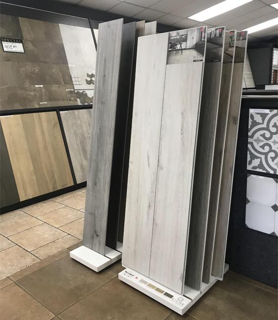 4 Wood Flooring Display Rack WC2065