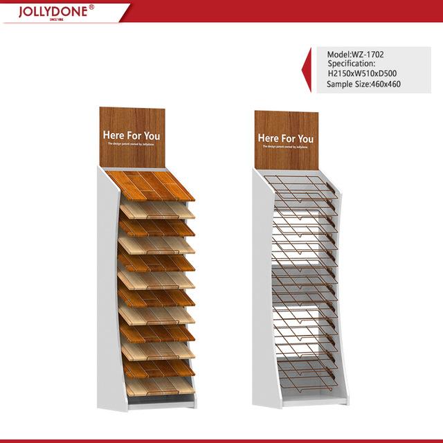 Vinyl Wood Floor Display Stand Can Display 12 Pieces Of Wood Floor WC2064