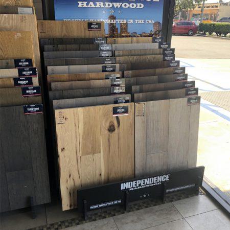 Wholesale New Style Metal Laminate Pvc Wooden Floorings Tile Displays Racks WC2071