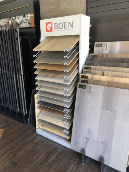 Flooring Store Displays,Flooring Sample Racks WC2073
