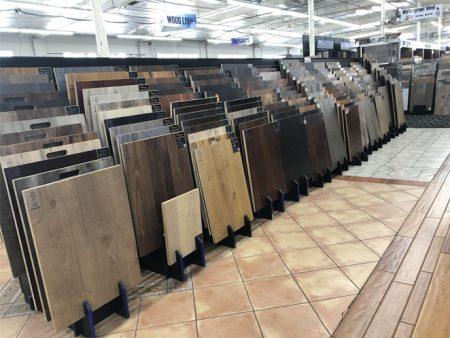 Custom Floor Display,Retail Display Board Display Rack WC2075