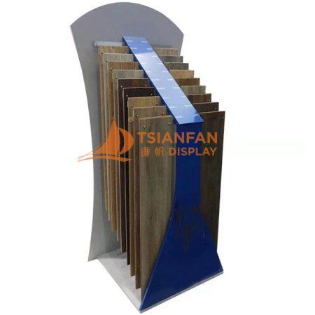 10 Layers Metal Laminated Solid Wood Simple Boarded Flooring Display Rack WC2078