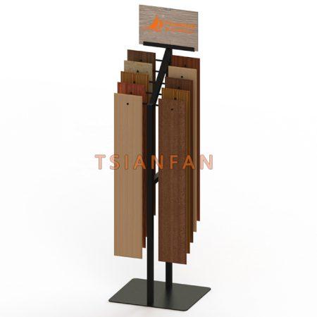Hardwood Floor Metal Display Stand With Hooks WC2079