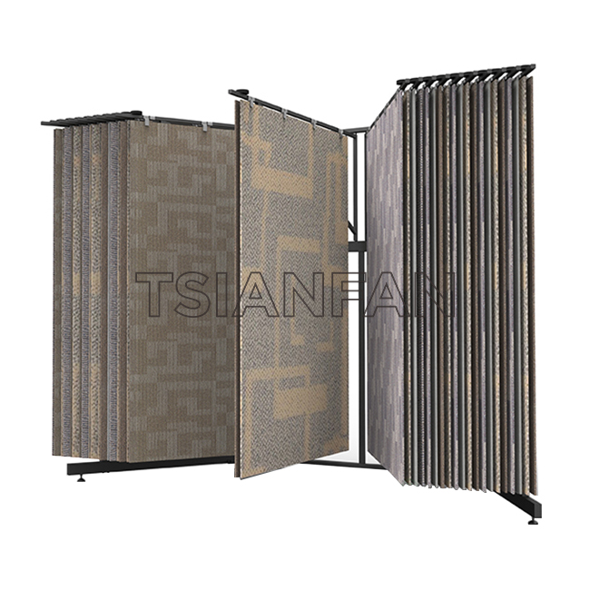 Floor Display Stands Suppliers,Carpet Display Rack WC2084